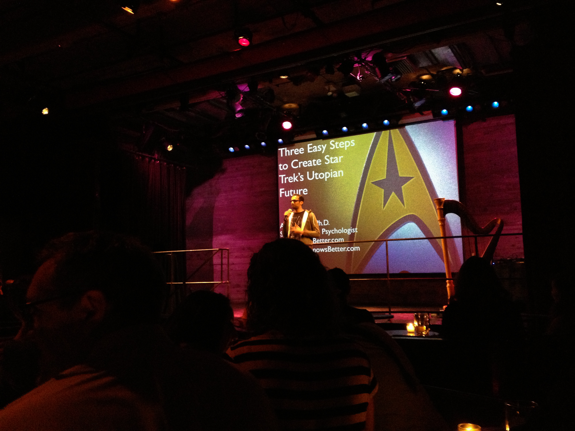 My Nerd Nite talk - 3 Easy Steps to Create Star Trek's Utopian Future