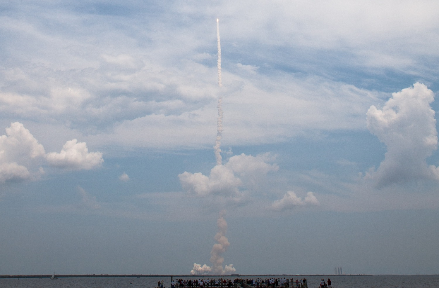 Seeing the launch of Space Shuttle STS-125 in 2009 fulfilled a lifelong dream of mine.