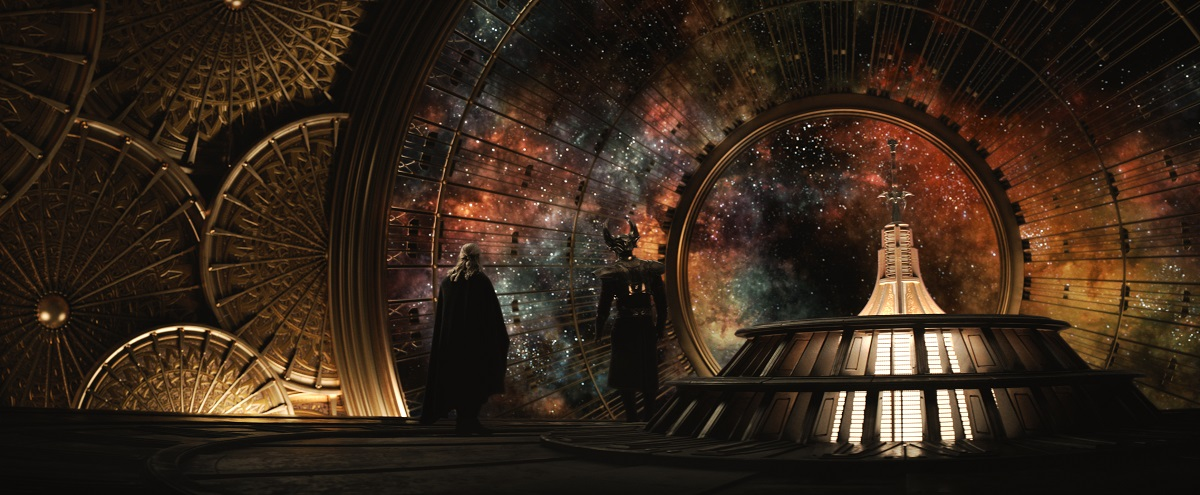 Thor beautifully blends science fiction and fantasy.