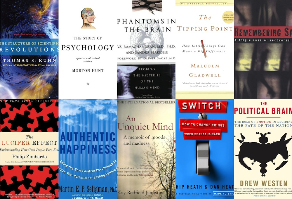 Essential psychology texts books reading.