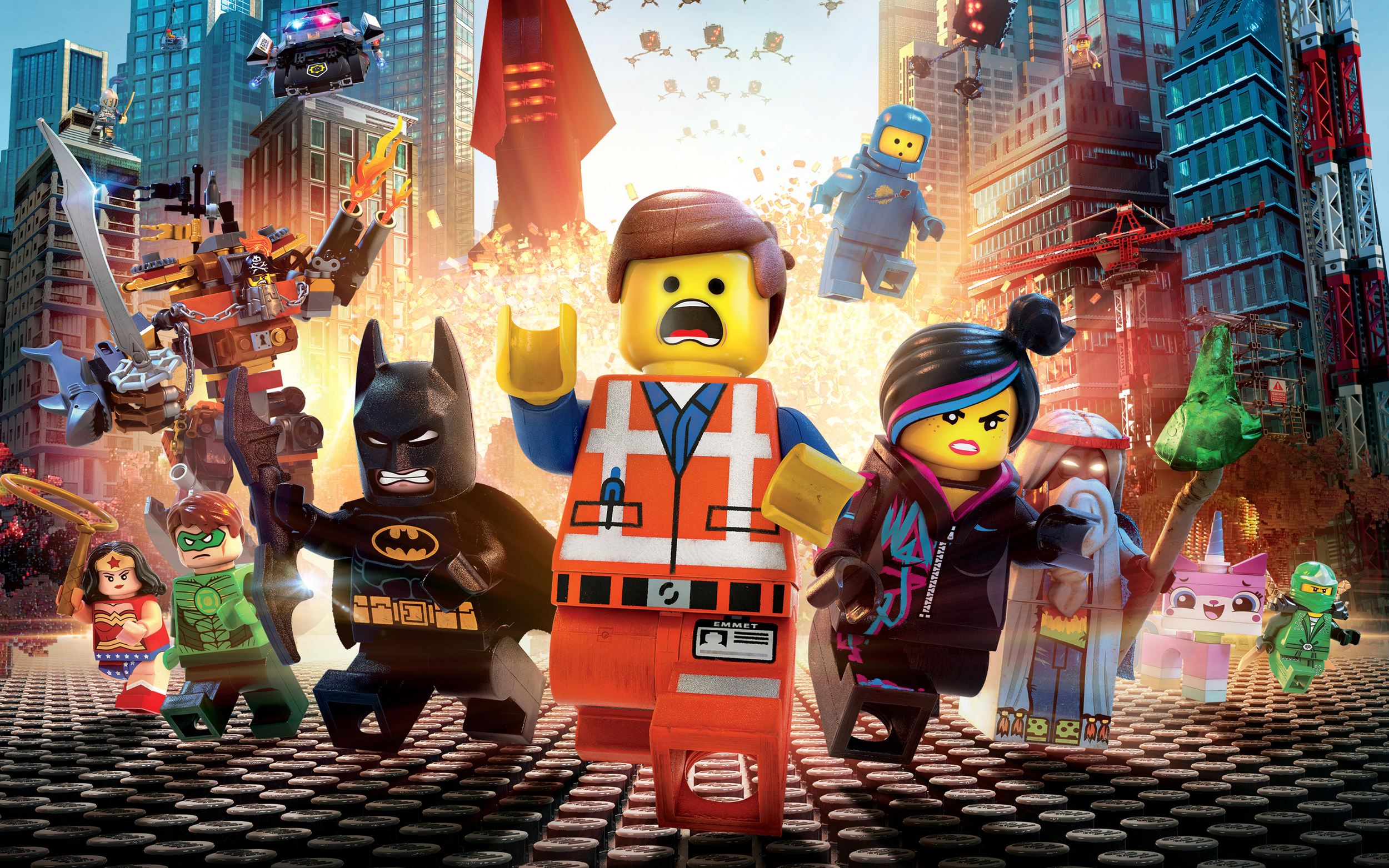 I wish  The Lego Movie  gave us more interactions across franchises and stronger female characters.