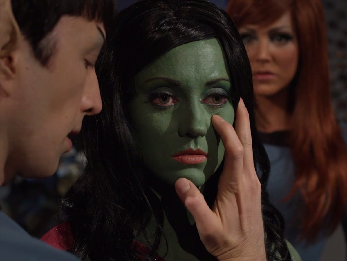 Star Trek Continues Lolani Mind Meld