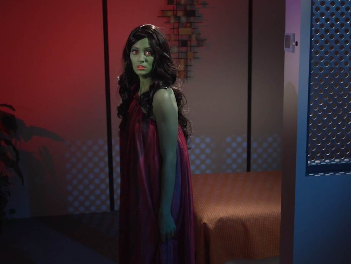 The second episode of  Star Trek Continues  focuses on Lolani, a victim of the Orion slave trade.