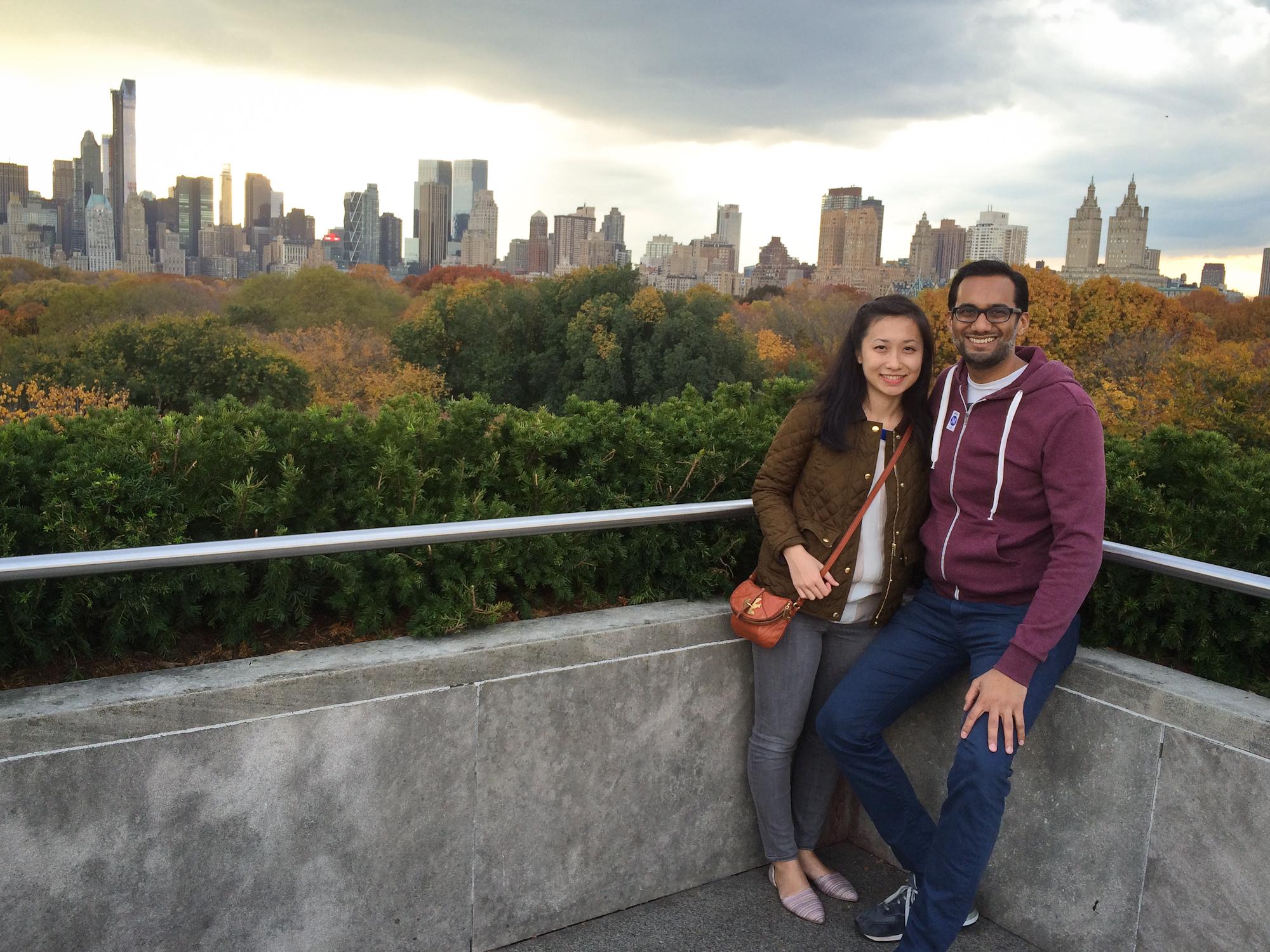 New York City, November 2013