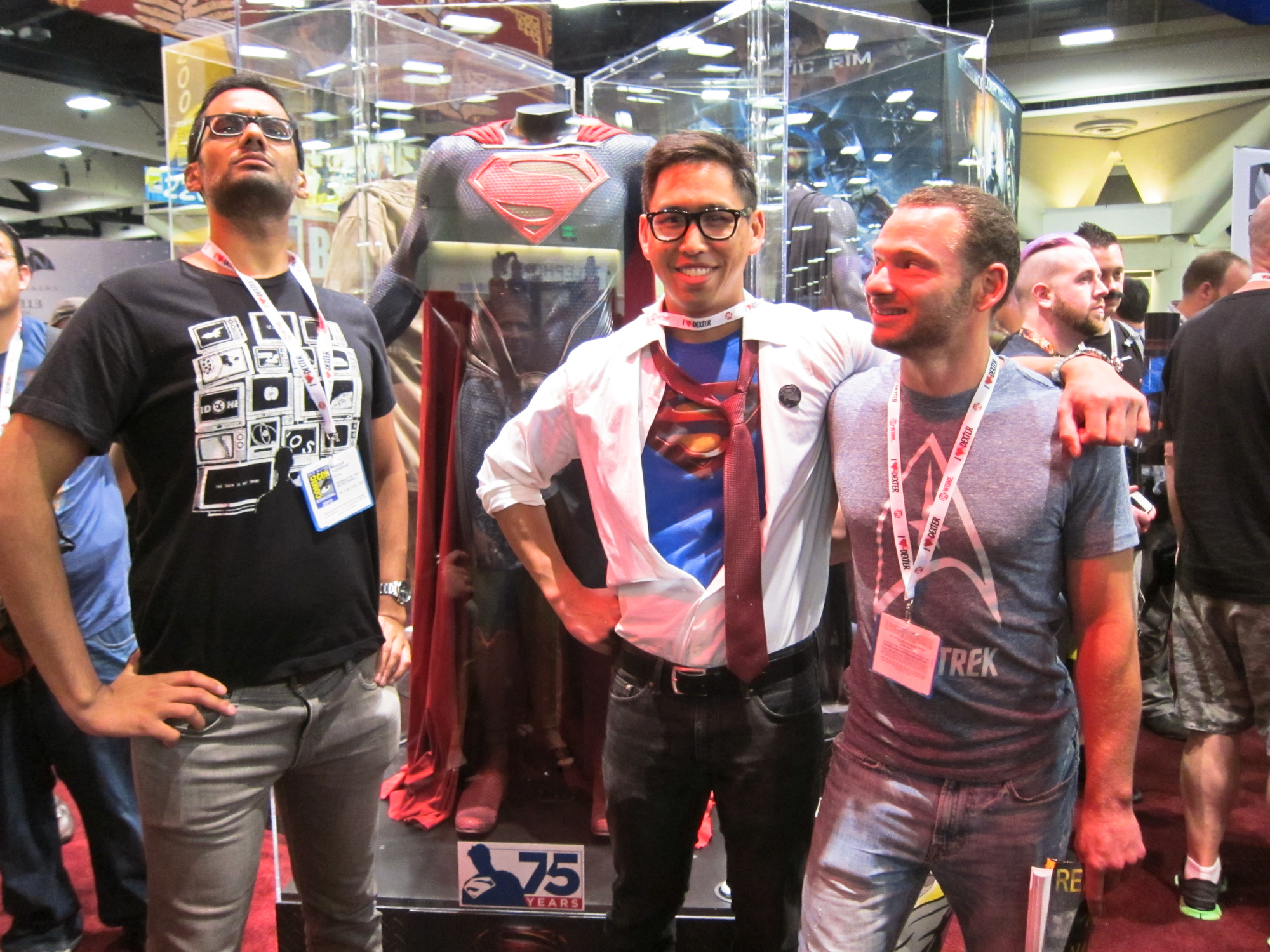 Hanging out with my friends is always the best part of comic-con. San Diego Comic Con 2013.