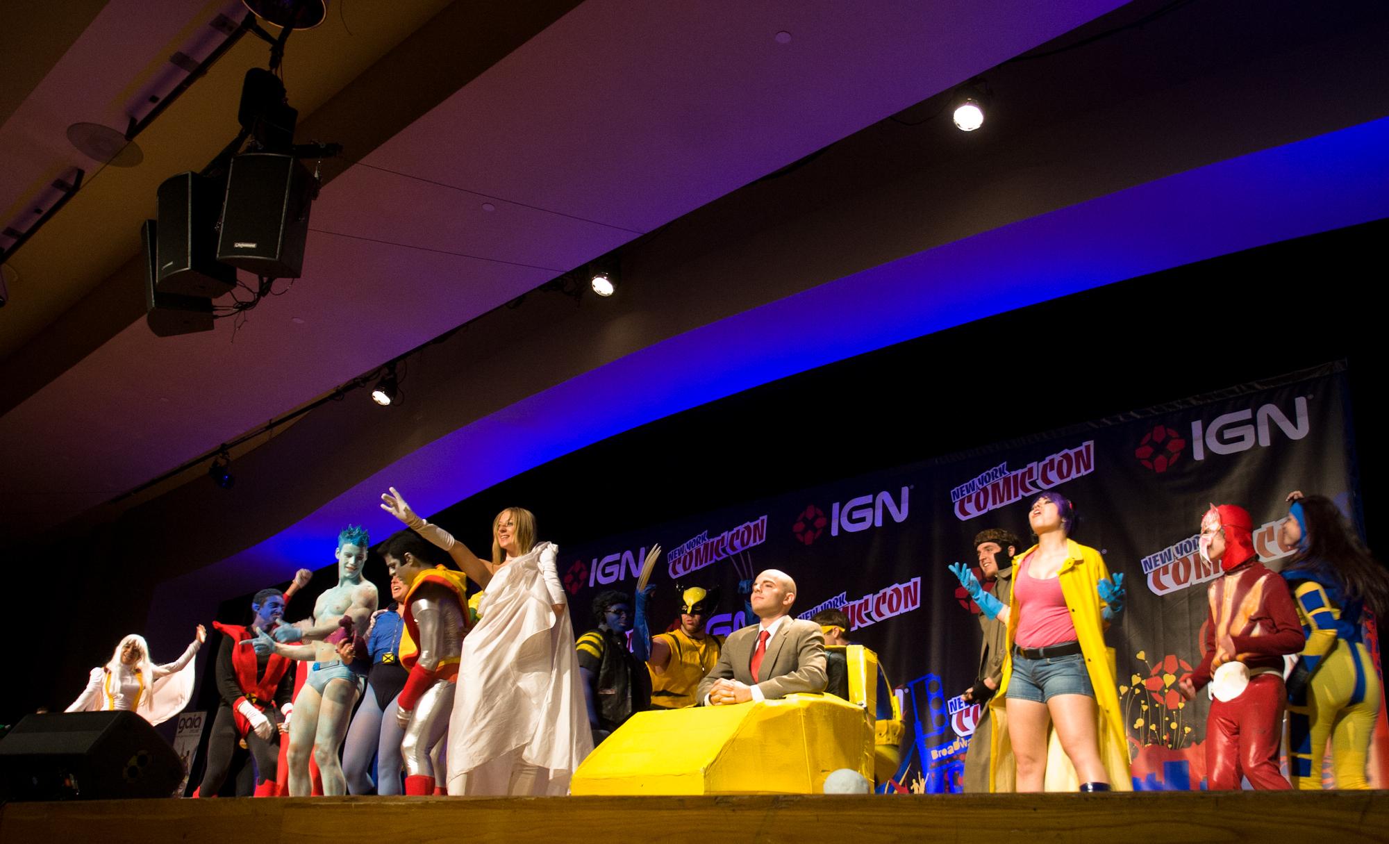 New York Comic Con 2010