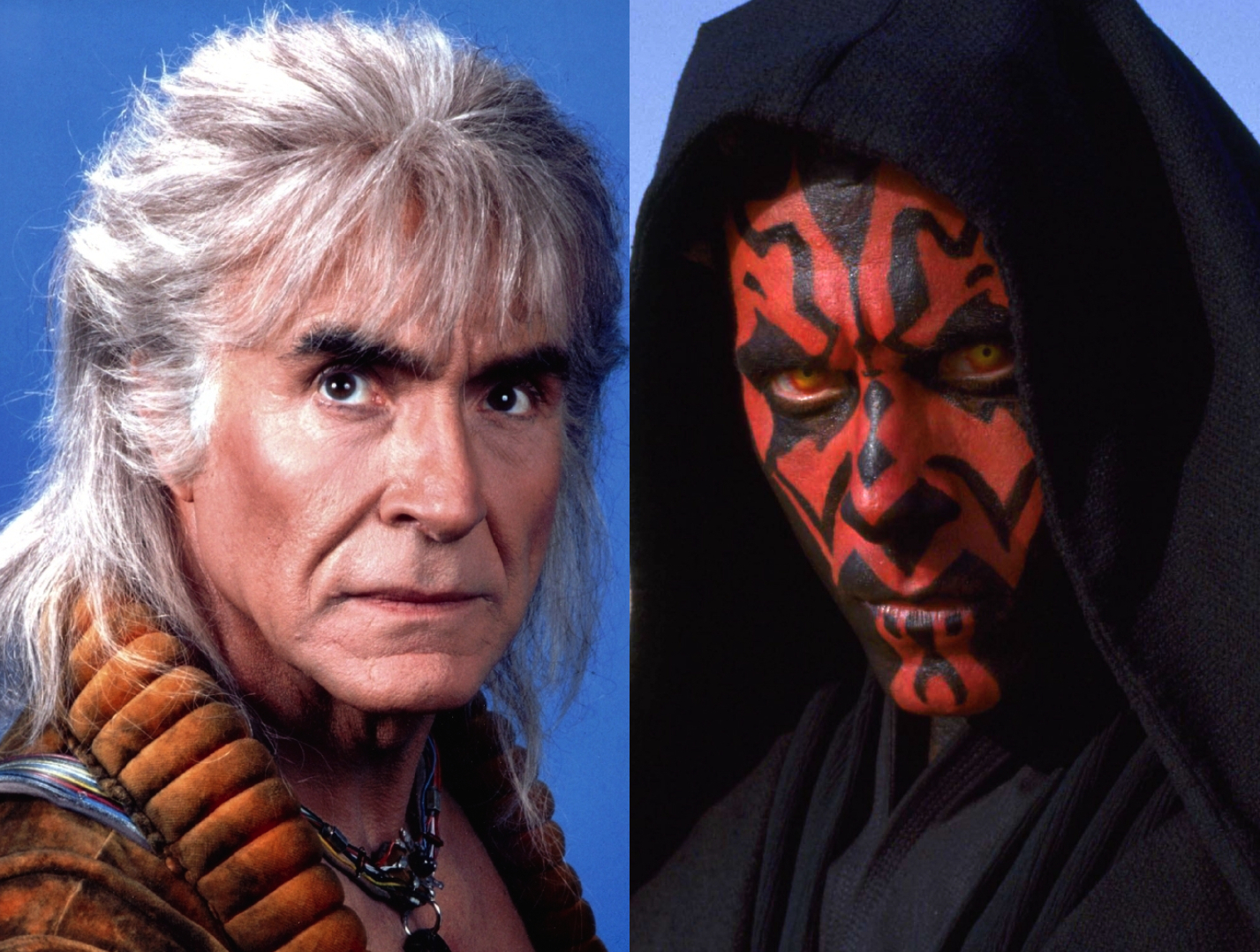 Star Trek II: The Wrath of Khan; Star Wars Episode I: The Phantom Menace Darth Maul