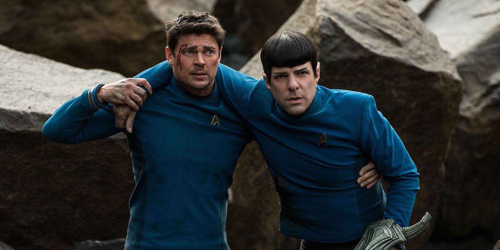 Star Trek Beyond Bones and Spock.