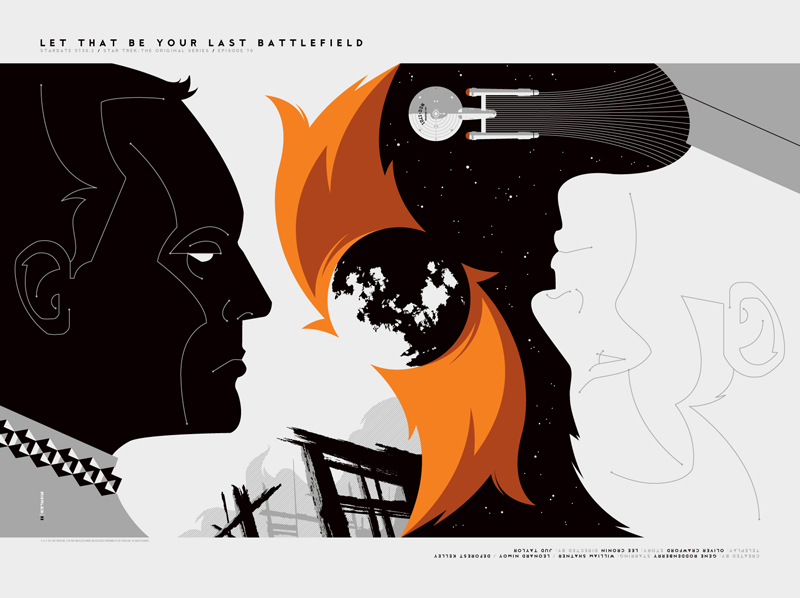 Tom Whalen's  Let That Be Your Last Battlefield.