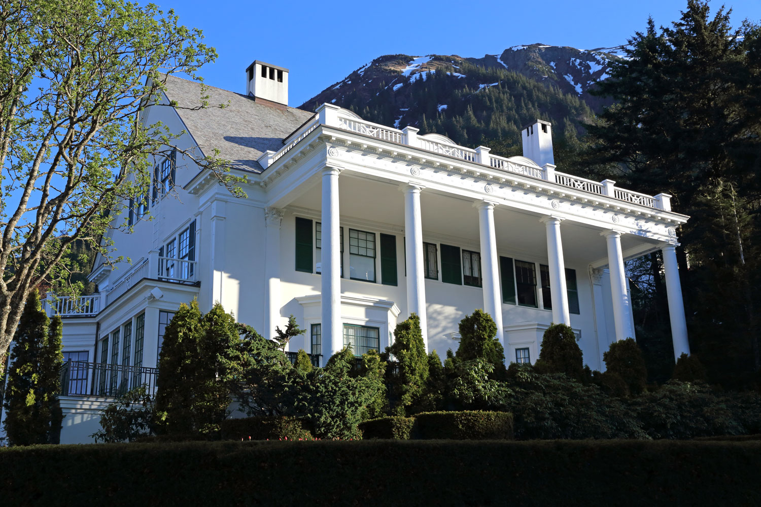 The Governor's Mansion in Juneau, Alaska