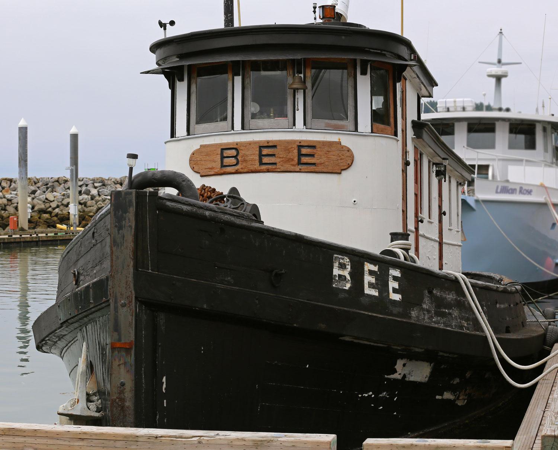 Tug BEE Southeast Alaska old boat pretty tugboat