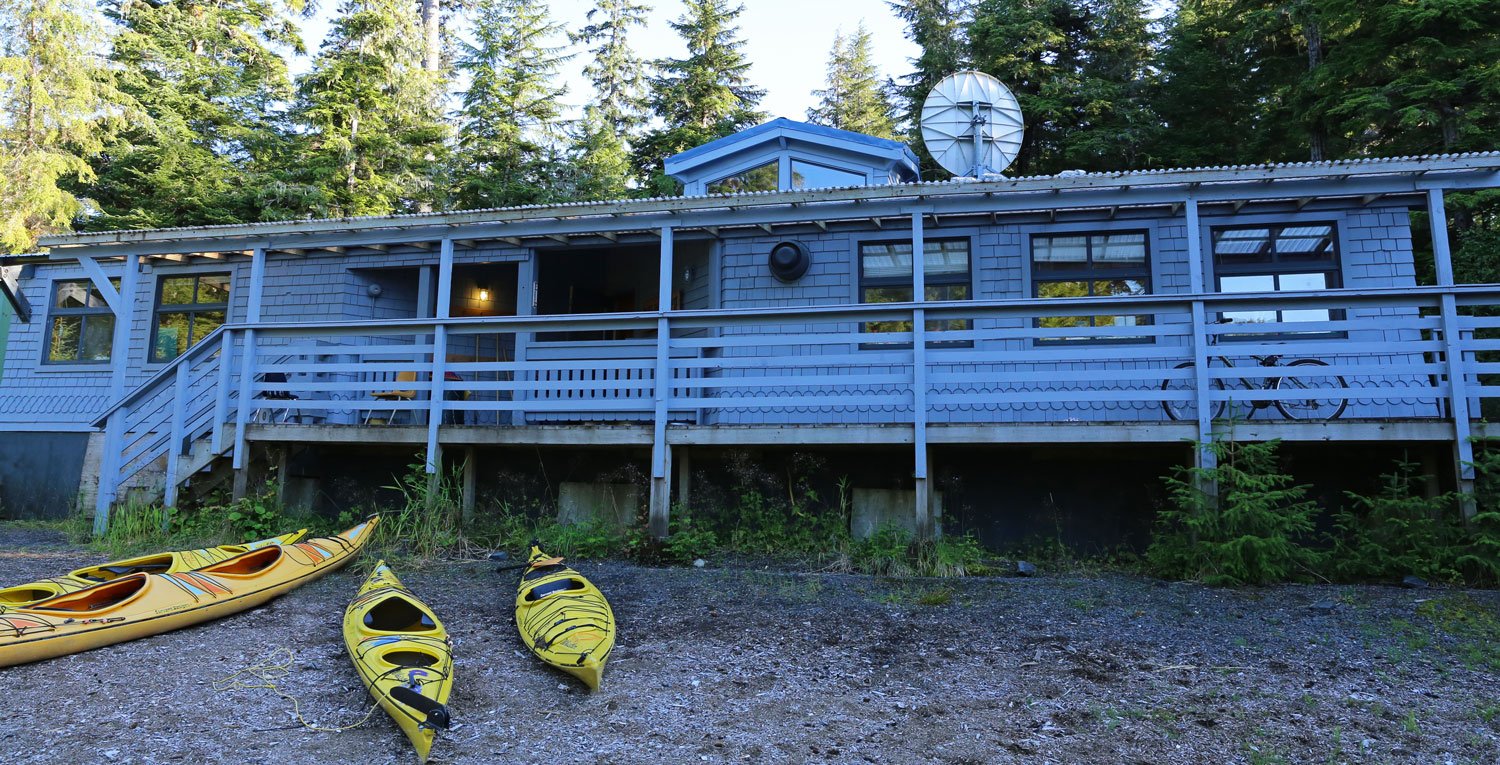 The school in Port Protection, Alaska