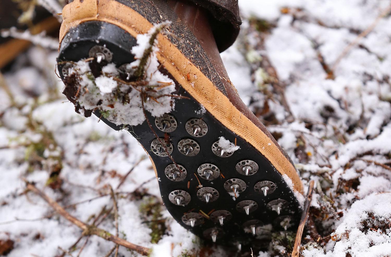 Caulk cork boots spikes logging logger