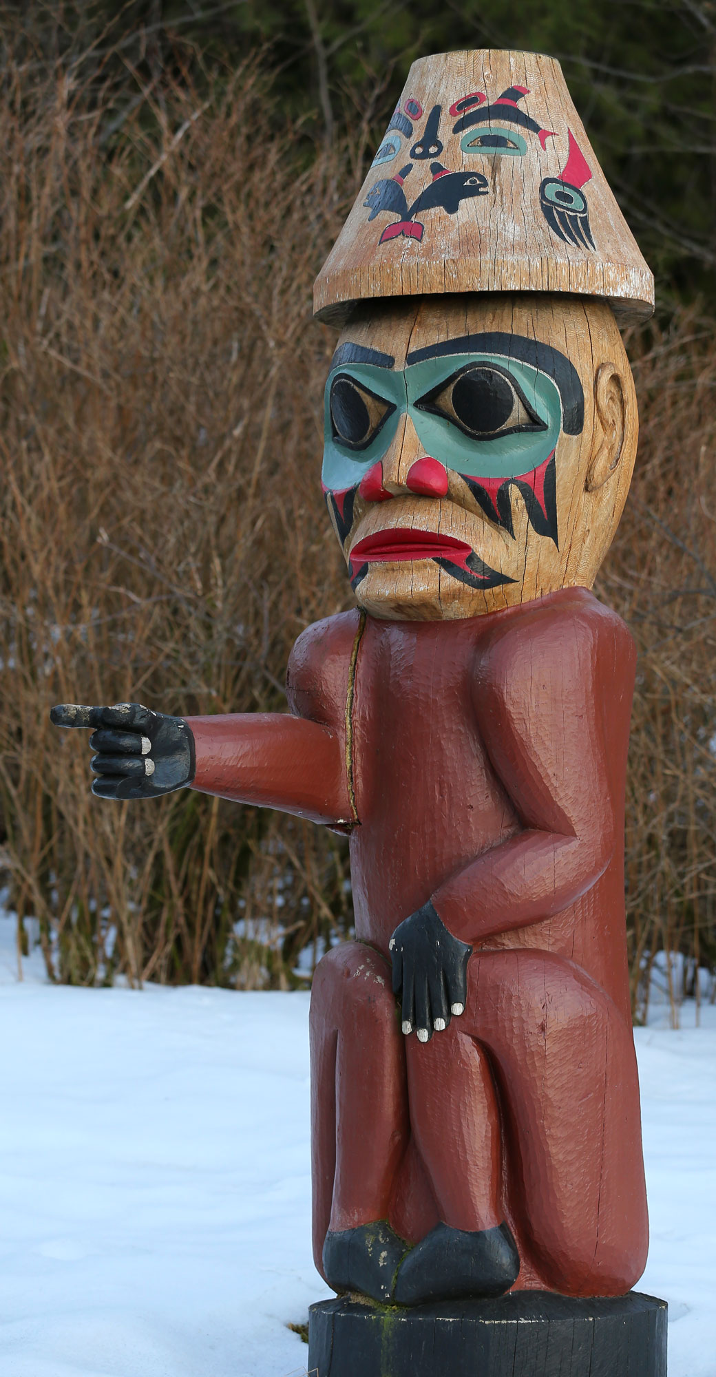 Saxman Village Totem Pole Alaska