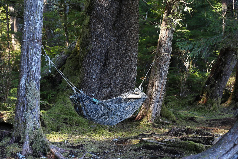 Hammock seine net Southeast Alaska