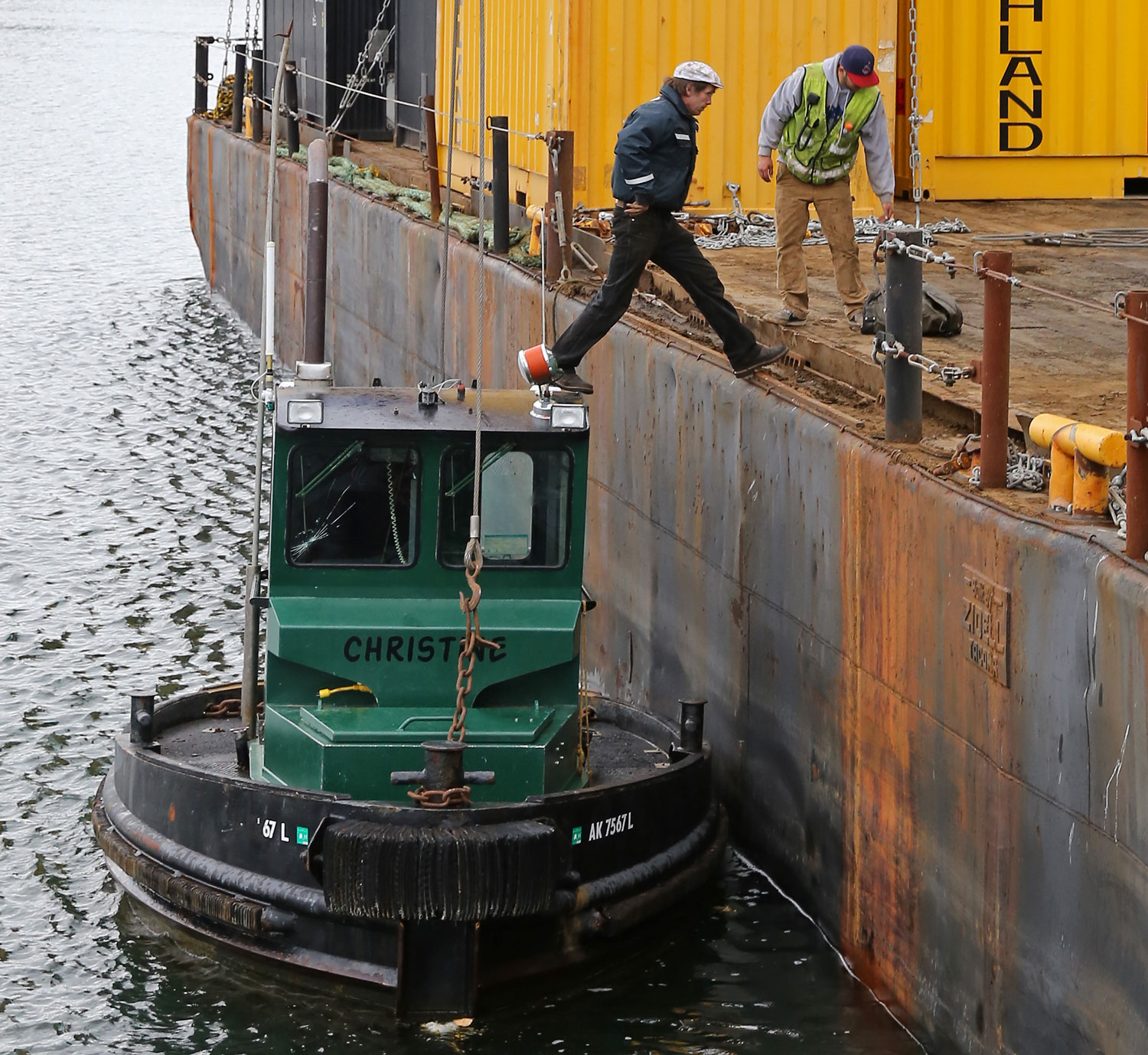 Moving a Boom Boat