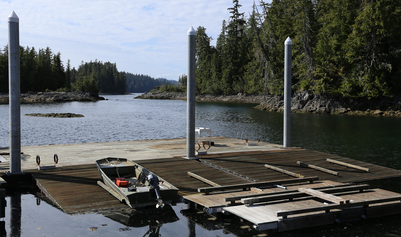 New dock Naukati Bay Southeast Alaska