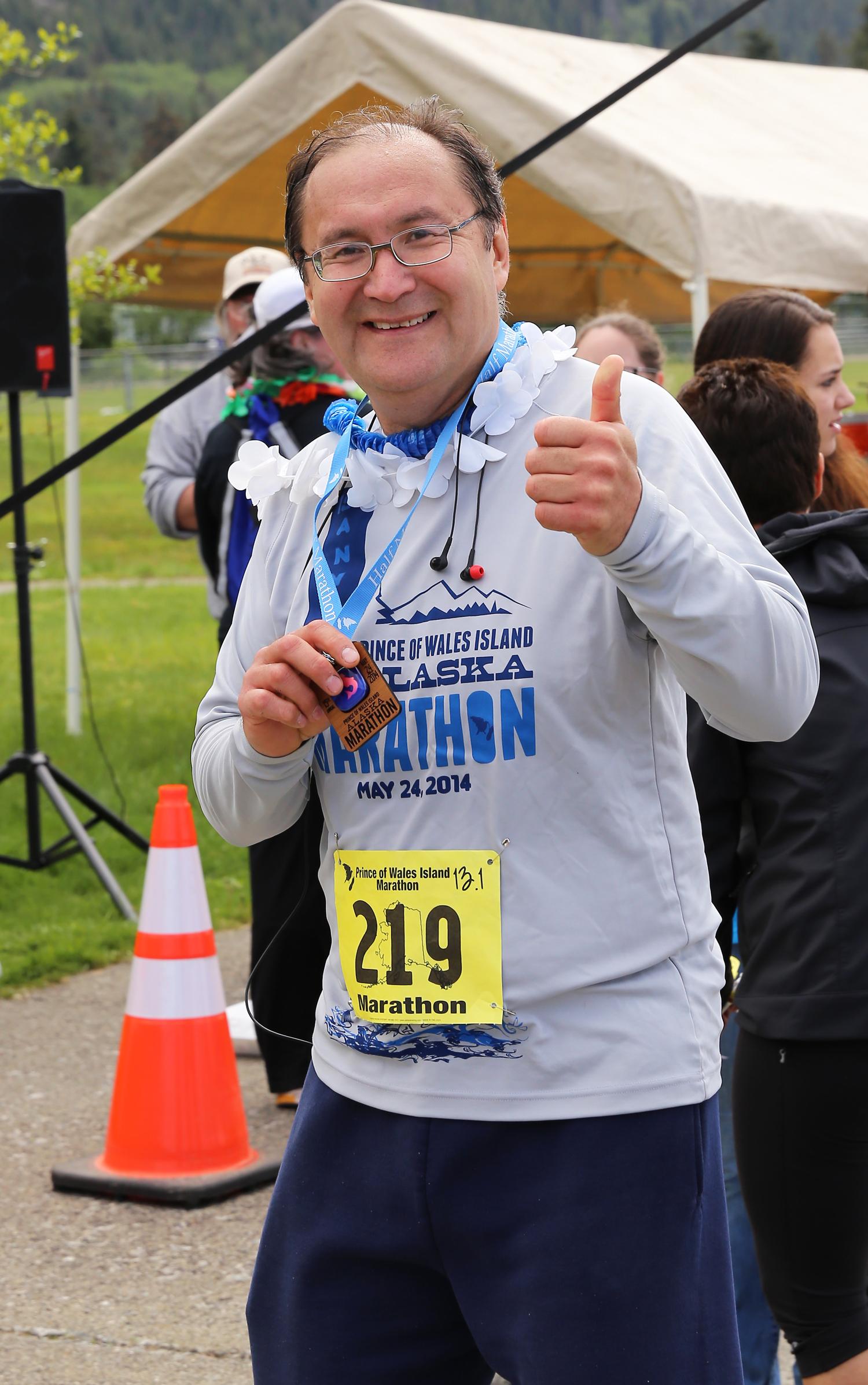 Alaska Prince of Wales Island Marathon 2014