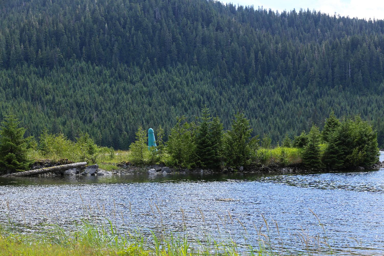 big green thing phallic Alaska