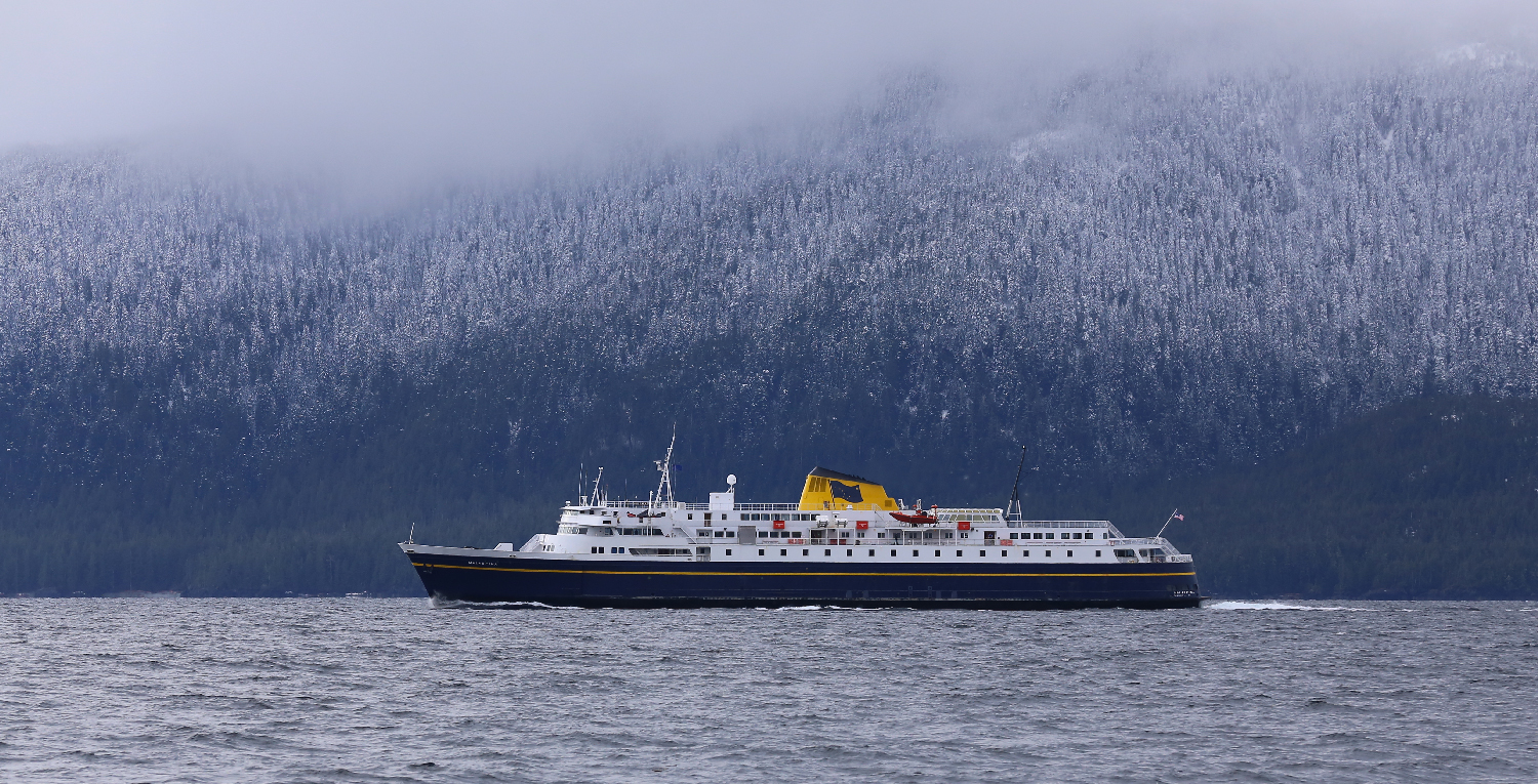 "The ""Malaspina"" was built in 1963, and still provides a great ride in a casual and friendly atmosphere. I love these ferries!"