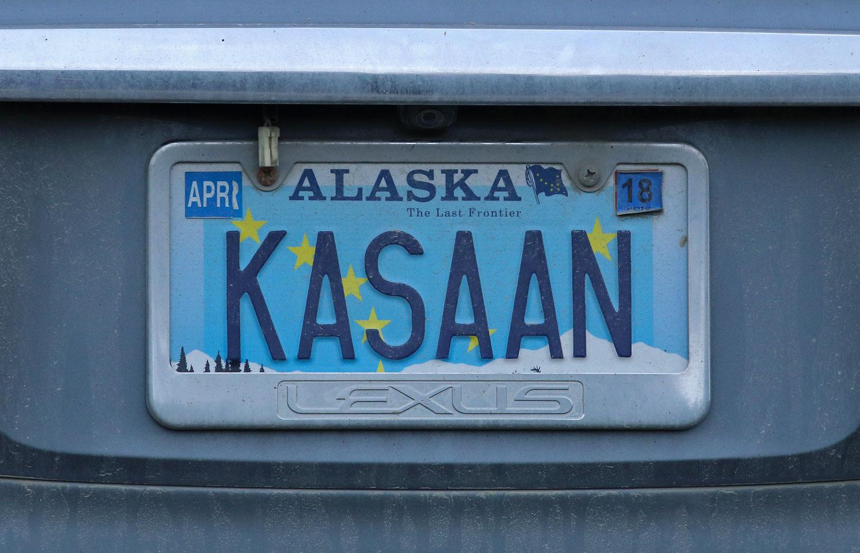 Kasaan Alaska license plate
