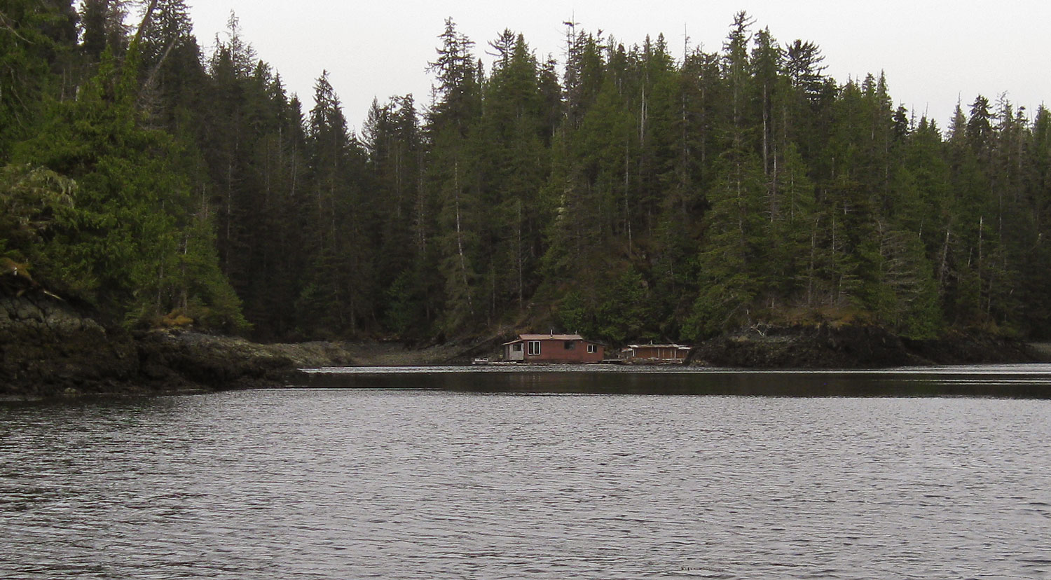 Floathouse kit: This furnished floathouse is listed with a truck (in town) and a boat  HERE .
