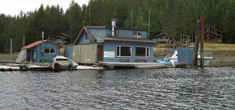 Floathouse Floatel in Thorne Bay, Southeast Alaska