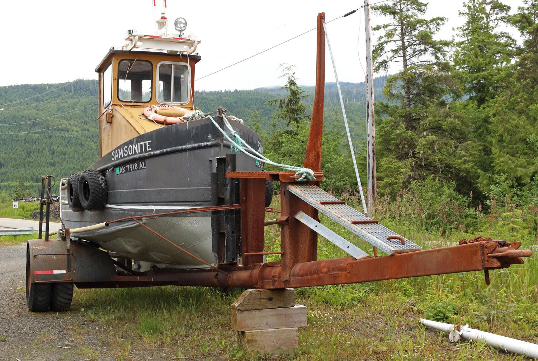 Samsonite the boom boat.