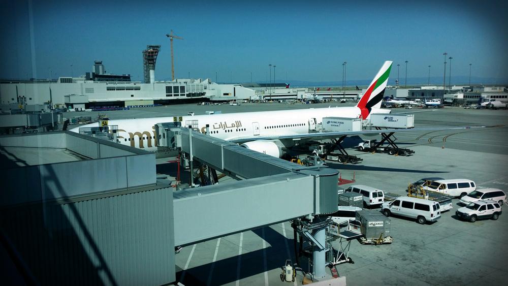 Boeing 777-300ER - San Francisco International Airport, California