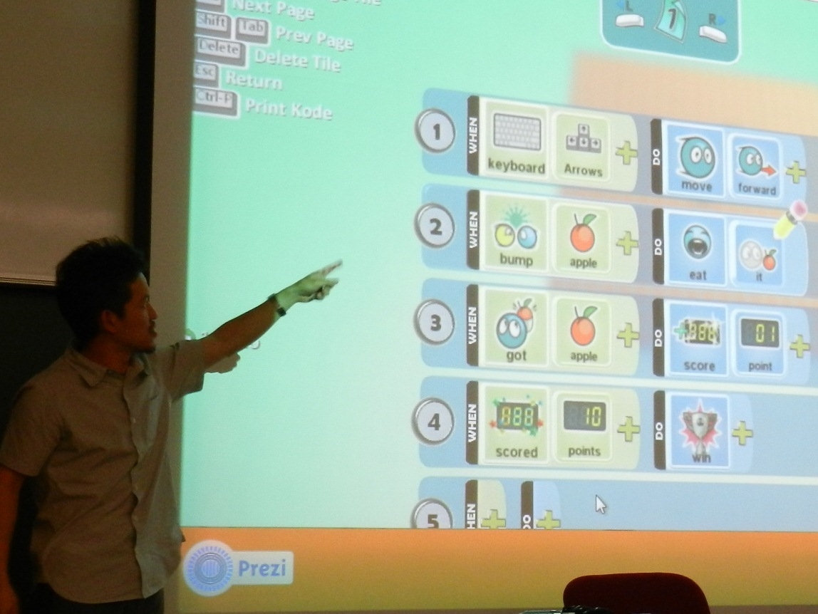 """Frankie Tam on """"Games and Learning in primary education"""""""
