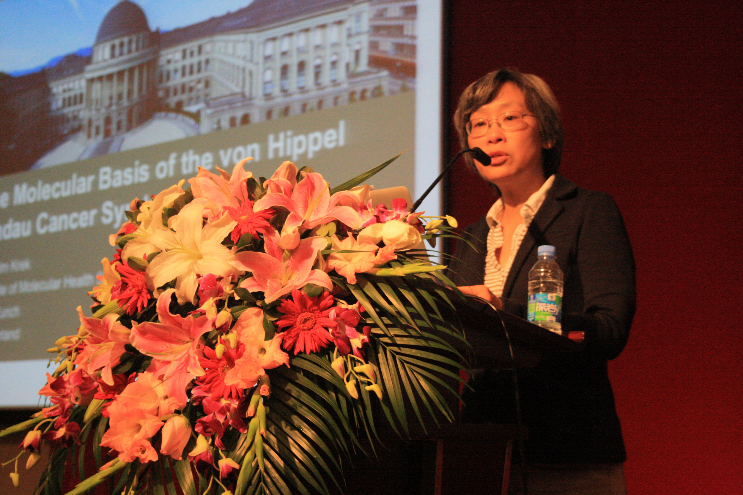 ETH Dr. Maio Su Chen, program manager of Sino Swiss Science and Technology Program