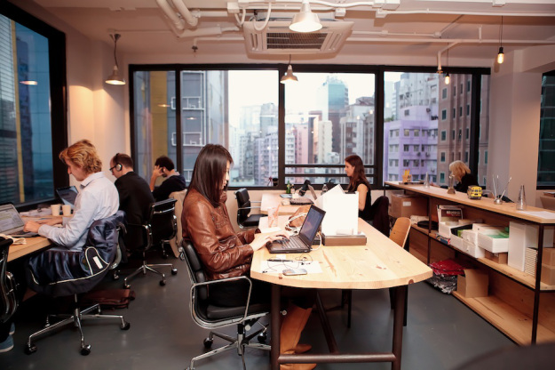 The Hive, one of the many co-working spaces of Hong Kong