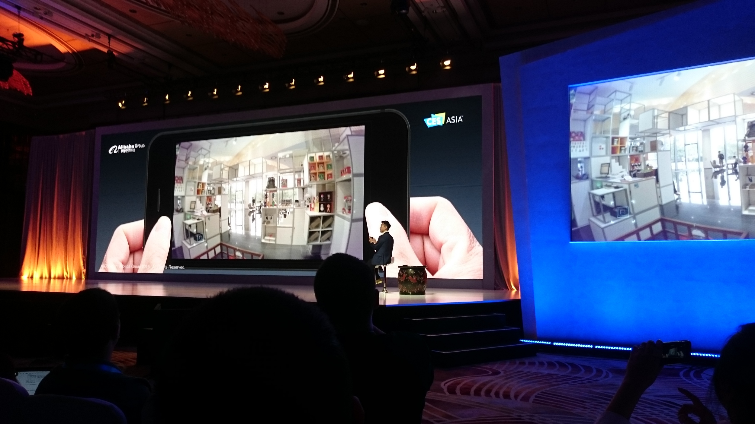 Keynote Alibaba – Future of shopping with the use of VR/AR