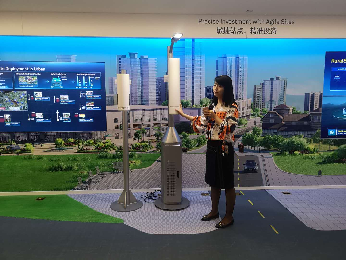 Huawei's Smart Lamp Post solution plays an important part in the mass-deployment of IoT solutions.