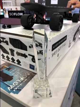 SoFlow: Best Vehicle Technology Startup.