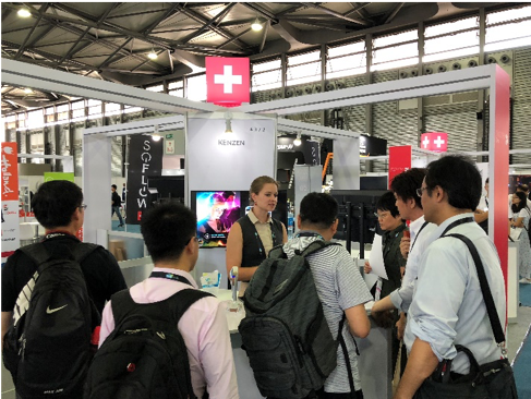 The attendees were very impressed with the cutting-edge Swiss technology & innovation.