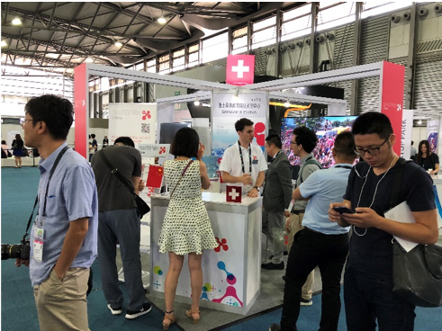 Many were enquiring about the mission and services of swissnex China.