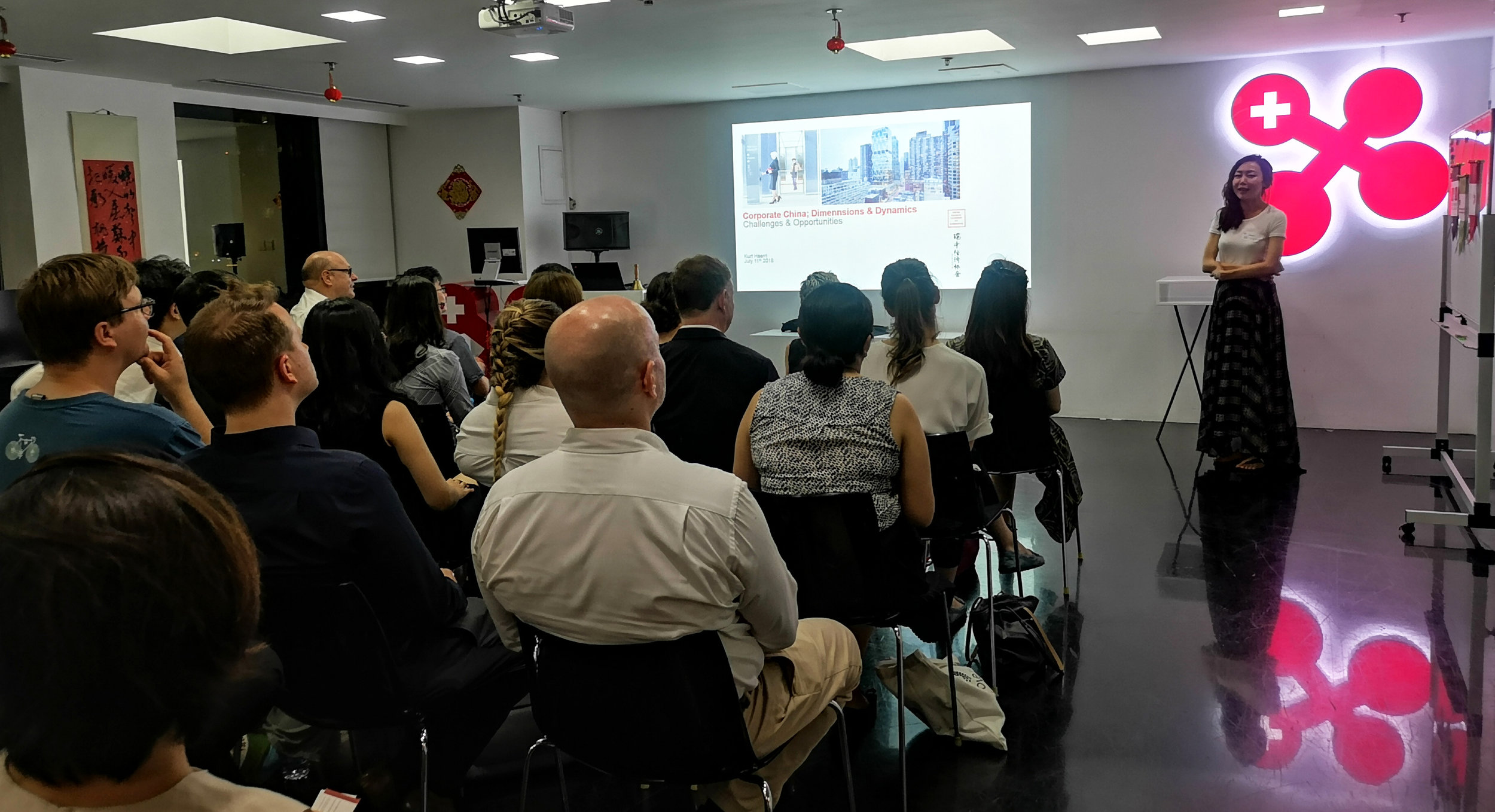 The dynamics event was instigated by ETH Zurich Alumni Chapter Chair Ms. Zhang Xi.