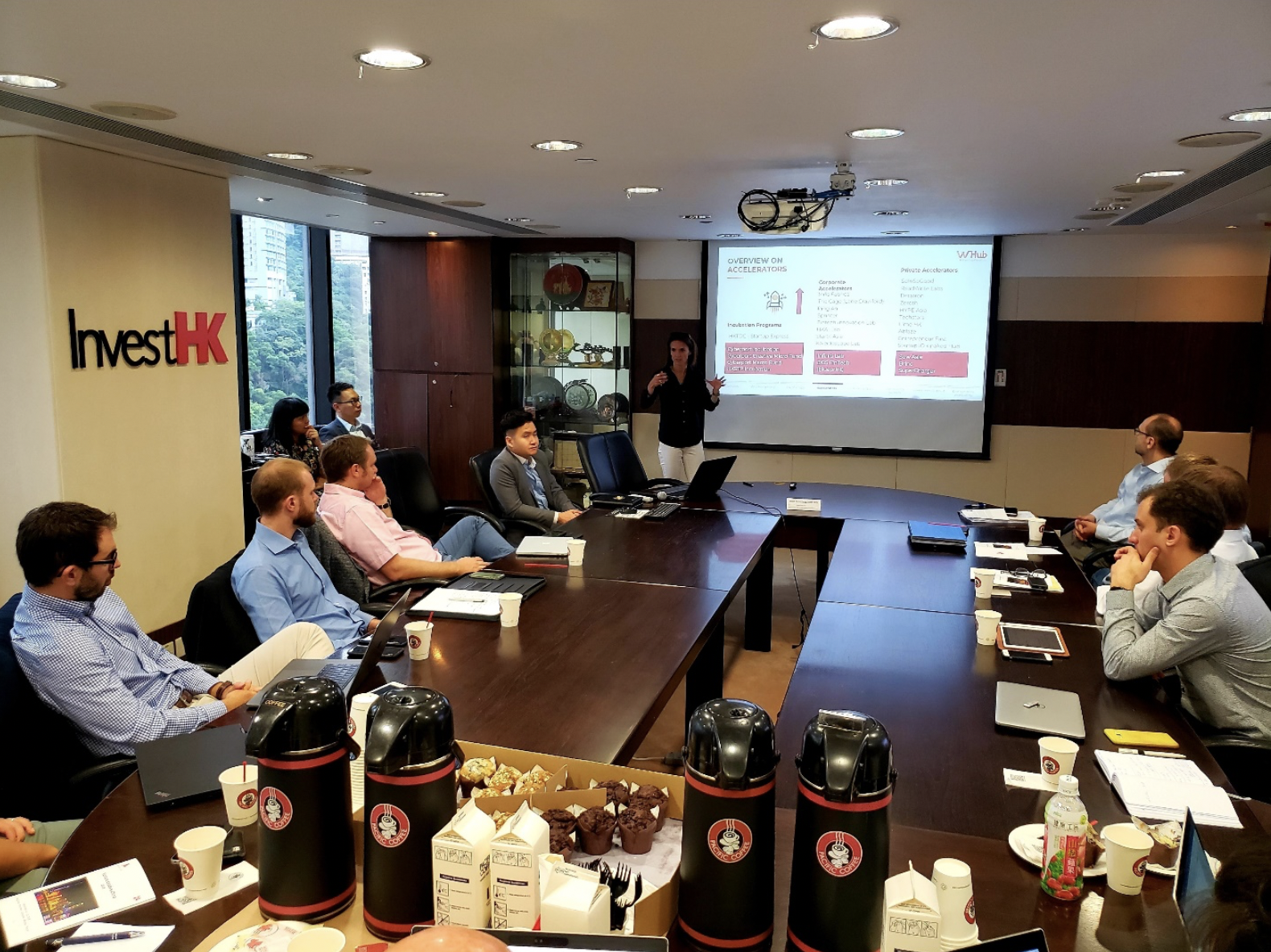 Kick off of the Venture Leaders program at Invest HK, in Hong Kong