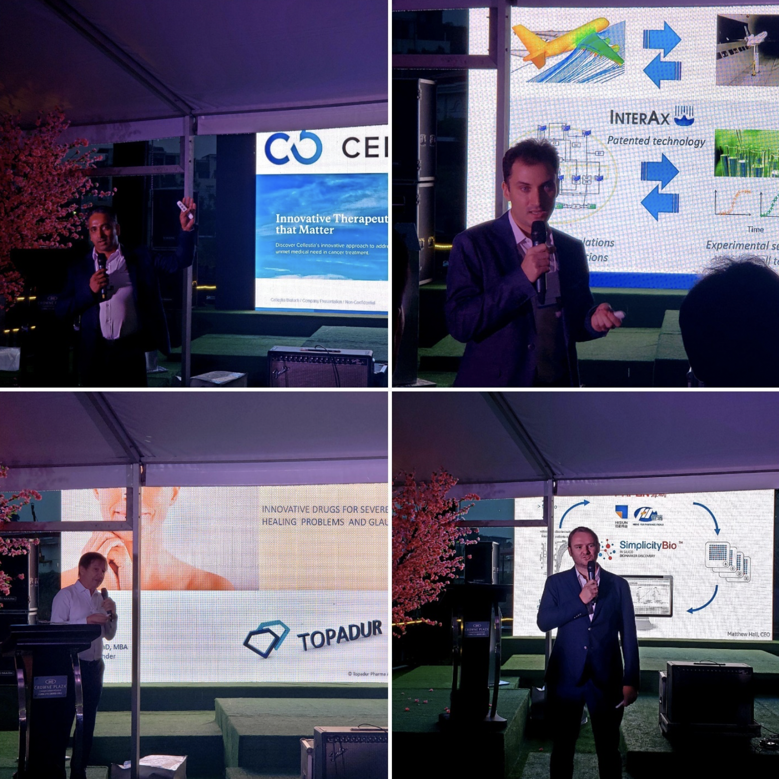 The last pitches of the program, in Tianjin