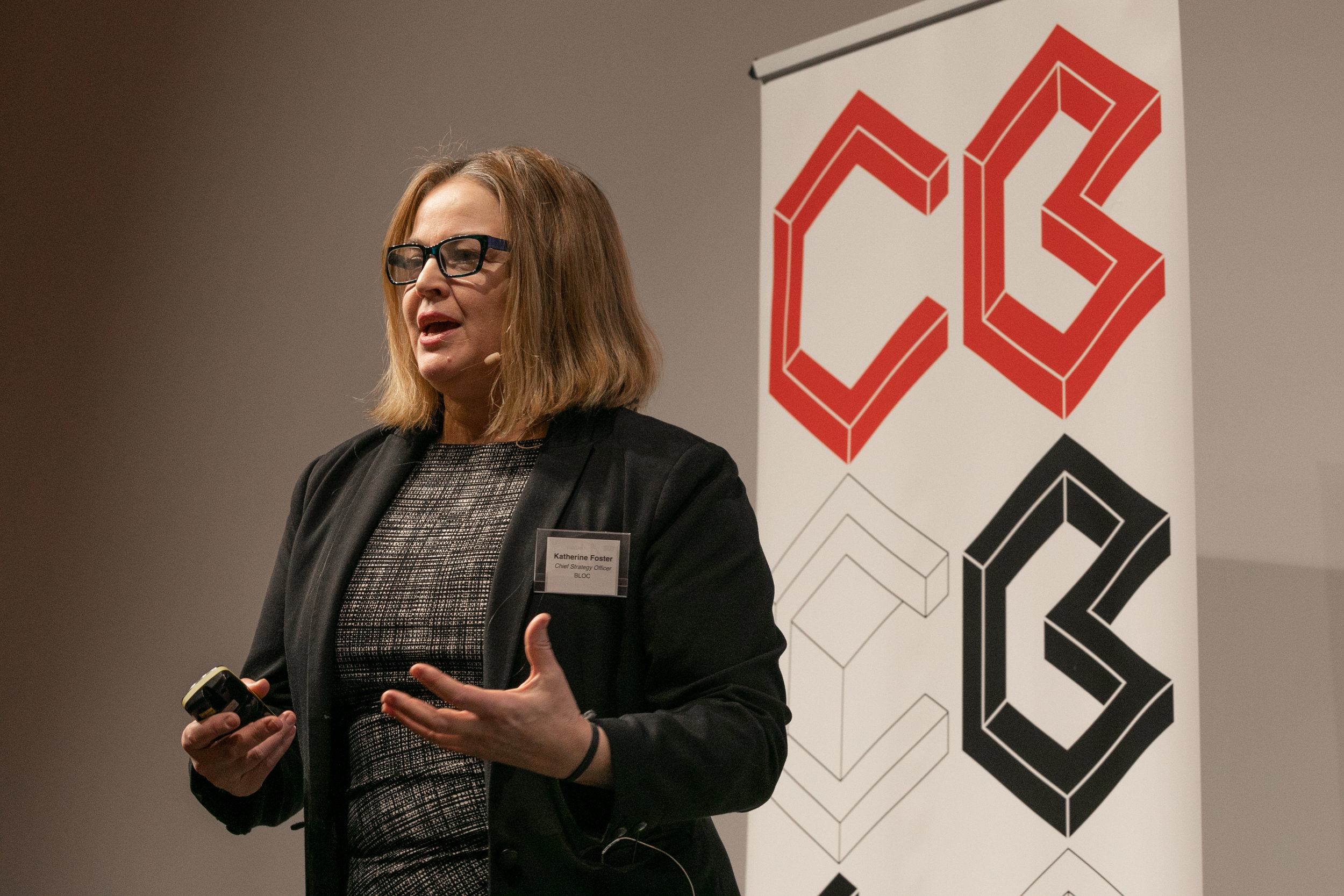 Katherine Foster,  Chief Strategy Officer, BLOC
