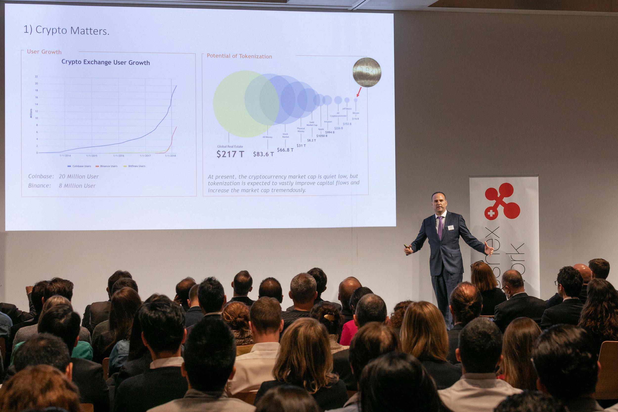Daniel Haudenschild,  CEO Swisscom Blockchain AG