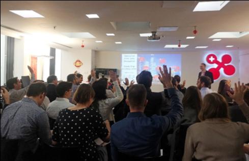 Presentation of swissnex China by Dr.Felix Moesner