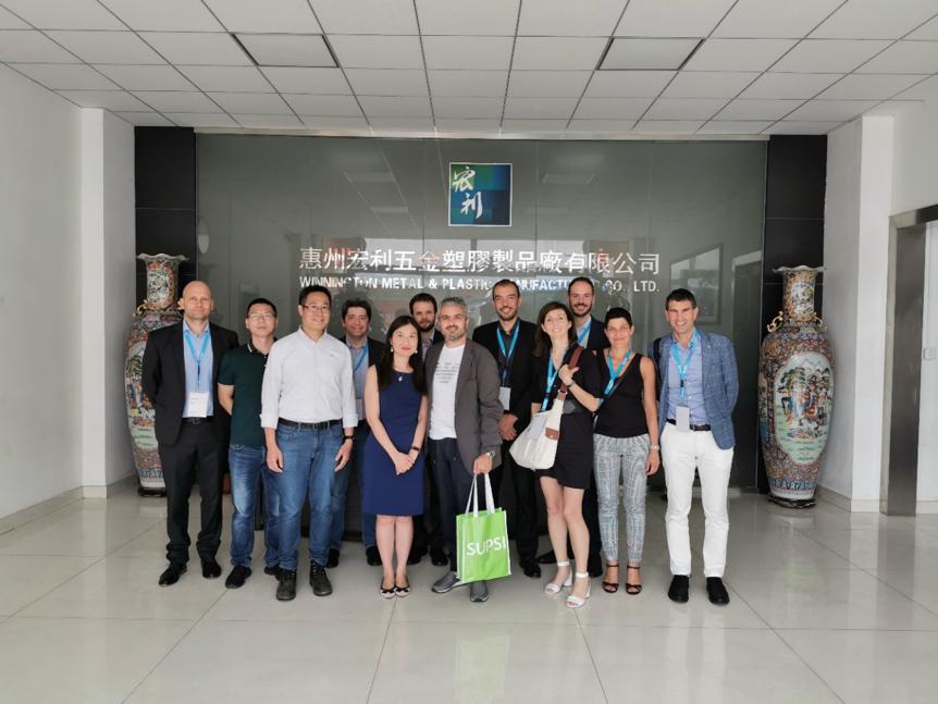 SUPSI EMBA delegation visited Winnington Metal & Plastic Manufacturing Co., Ltd.
