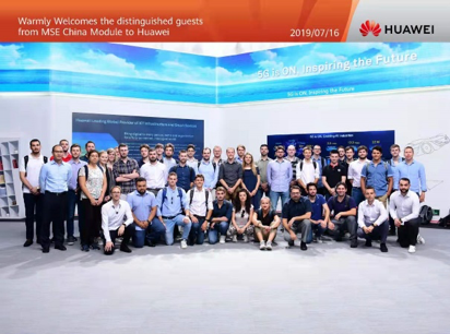 MSE China Module visited Huawei