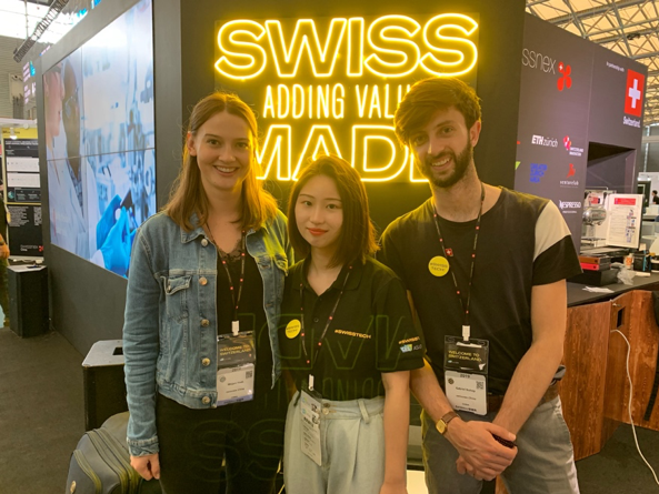 Christy had a great time working with her swissnex colleagues during CES ASIA 2019.