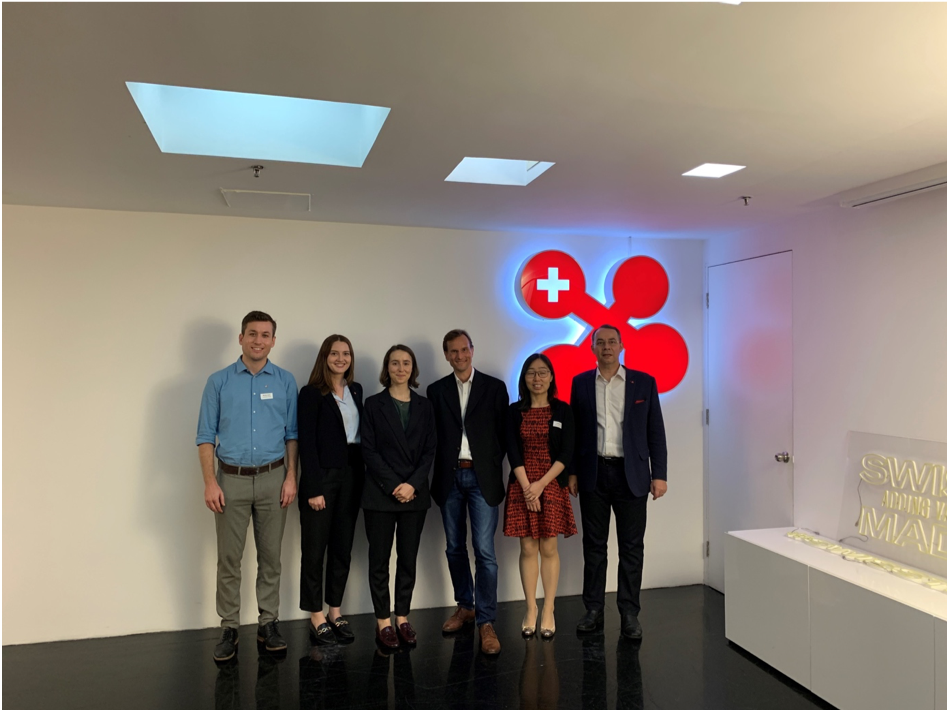 Visit at swissnex China & team