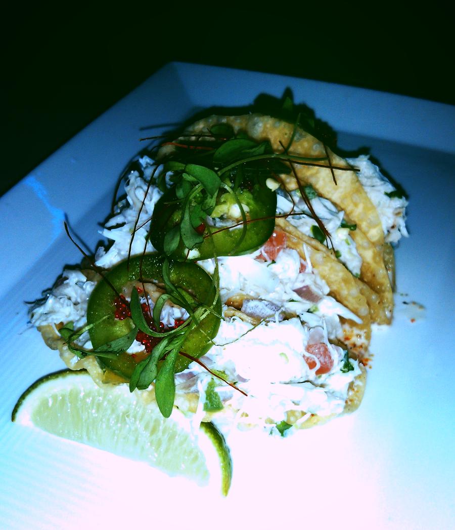 Spicy Crab Mini Tacos