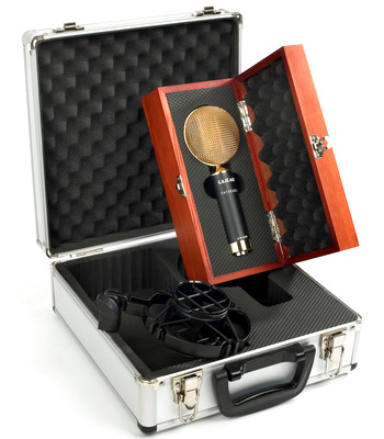 Cascade Ribbon Mic. Rick bought his in brown. Click on the picture to check them out!