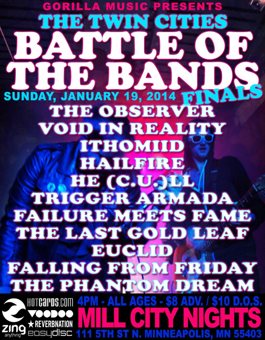 Poster from the battle. If you're interested in tickets, contact us  here